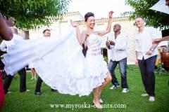 mariage cocktail le mas de france
