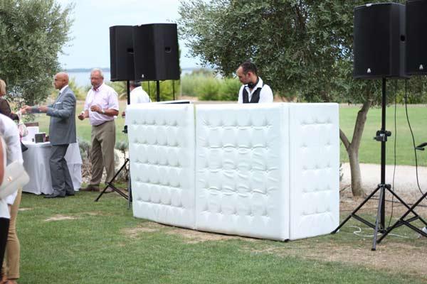 cocktail mariage domaine des moures a villeneuve les maguelone