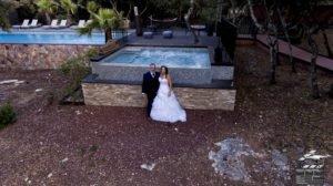 drone mariage Montpellier Hérault Nimes gard Occitanie